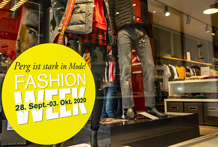 Fashion-Week 2020 Stadtzentrum Perg